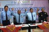 Rokok ilegal senilai Rp1,3 miliar dimuat truk di Tol Semarang-Batang diamankan