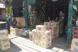 Satgas Yonif 755/Yalet galang bantuan untuk korban kebakaran di Agats