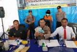 Polisi ungkap pelaku  pengedar uang palsu