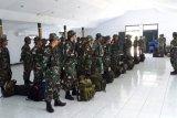Puluhan prajurit Satgas TMMD diberangkatkan ke Mappi