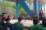 Karhutla Riau - Mahasiswa STAI Auliaurrasyidin Tembilahan ikut serta padamkan api