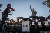 Demontrasi mahasiswa di Bintan tolak pelemahan KPK ricuh