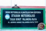 BMKG perkirakan Kalteng berpotensi hujan selama sepekan