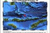 Gempa 4,3 guncang barat laut Larantuka