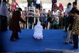 Tiga pasangan mesum di Aceh dihukum cambuk