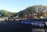 Kodam XIV Hasanuddin tumbuhkan semangat patriotisme lewat lomba baris-berbaris