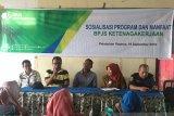 BPJS Ketenagakerjaan  edukasi nelayan manfaat program