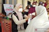 ACT bagikan ribuan masker untuk warga terdampak  kabut asap