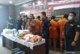 Diselundupkan via laut, polisi sita 38 kg sabu-sabu asal Malaysia