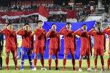 Babak pertama Indonesia vs China berakhir tanpa gol