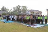 Polres Ogan Komering Ulu Timur gelar Shalat Istisqa meminta hujan