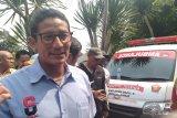 Prabowo bakal umumkan Sandiaga kembali ke Gerindra