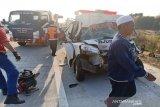 Polisi belum tetapkan tersangka kecelakaan Tol Pejagan-Pemalang menewaskan lima korban