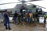 Pencarian pesawat hilang di Papua