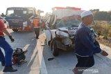 Hingga kini, polisi belum tetapkan tersangka kecelakaan Tol Pejagan-Pemalang