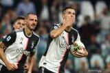 Ronaldo eksekusi pinalti antar Juve di puncak klasemen