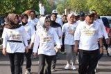 50.000 peserta ikuti Mlaku-Mlaku Bareng Bupati dan Wakil Bupati Pekalongan