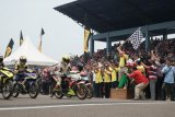 174 pembalap Kejurnas Motoprix  adu cepat di Sirkuit Skyland Sekayu