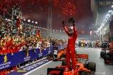 Vettel akhirnya juarai GP Singapura