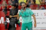 Karim Benzema menangkan Real Madrid atas Sevilla 1-0