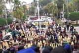 Ratusan mahasiswa aksi tolak pasal karet di RUU KUHP