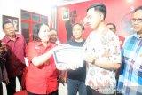 Gibran mendaftar kader PDIP Surakarta