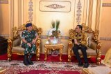 Gubernur Sulsel - Pangkoopsau II bahas program kerja sama