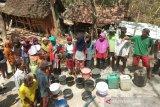 BPBD Bantul menyalurkan bantuan air 550 tangki selama kemarau