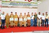 Siaga karhutla, Musim Mas Group gelar apel dan beri penghargaan desa bebas api
