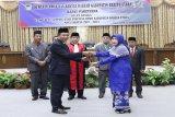 Hj Mery Rukaini resmi menjabat Ketua DPRD