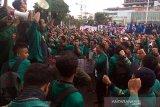 Aliansi Mahasiswa Banyumas tolak revisi UU KPK dan RUU KUHP