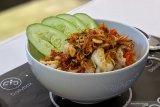 Udang sambal bawang goreng ala chef Juna