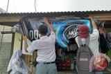 Ruandu masih temukan ada iklan rokok di Padang, menggunakan spanduk konser musik