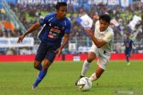 Arema FC gelontor PSS Sleman 4 gol tanpa balas
