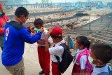 PMI Babel bagikan 3.000 masker ke sekolah di Tanjung Pura
