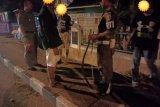 Diduga akan tawuran, Satpol-PP Solok amankan lima remaja bawa senjata tajam