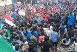 Seorang mahasiswa pingsan saat demo di Tarakan