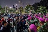 TNI AD dan Marinir tenangkan mahasiswa pedemo