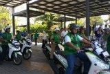 100 pekerja ikut pelatihan safety riding BPJS-TK