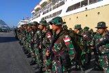 Kasdam XIV/Hasanuddin lepas 423 personel untuk pasukan PBB di Libanon