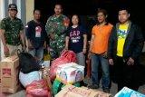 TNI berikan bantuan untuk korban kebakaran di Agats