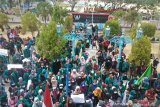 Mahasiswa di Poso juga demonstrasi tolak revisi KPK