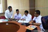 Pemkab Solok serah terimakan jabatan empat pejabat tinggi pratama