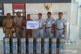 25 tong sampah dari Jasa Raharja untuk Mota Ain