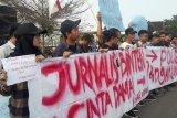 Wartawan Banten kecam kekerasan terhadap jurnalis