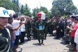 Anggota TNI gugur dalam pengamanan demo anarkis di Jayapura dimakamkan di Malut