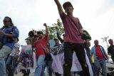 Wartawan Karimun demo suarakan penolakan terhadap kekerasan