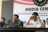 Menkopolhukam Wiranto akui ada upaya adu domba TNI-Polri