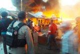 Polisi sebut 150 rumah kios terbakar di Oksibil