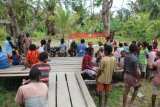 Satgas TMMD Kodim Merauke berikan pelayanan kesehatan di Kogir